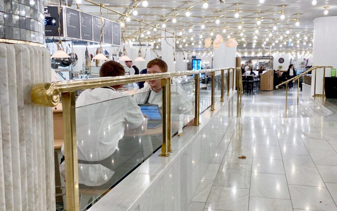 Nytillverkning av inredningsdetaljer till varuhuset NK
